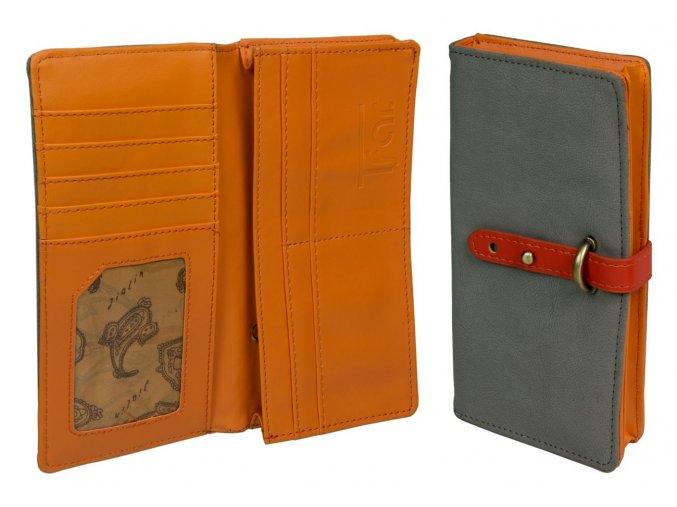wallet chamois colour 032