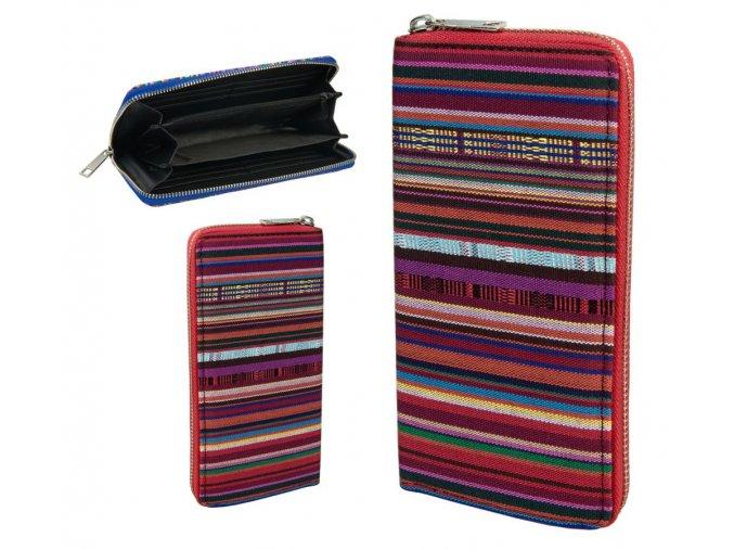 wallet textile lines 042