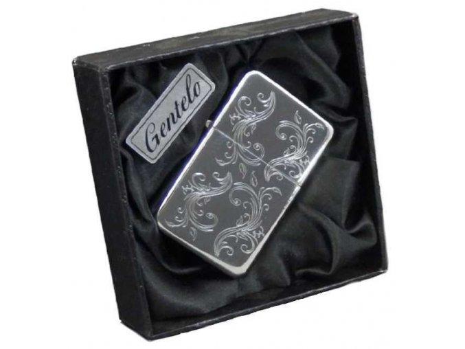 Benzínový zapalovač ALASKA CASE v dárkové krabičce 23