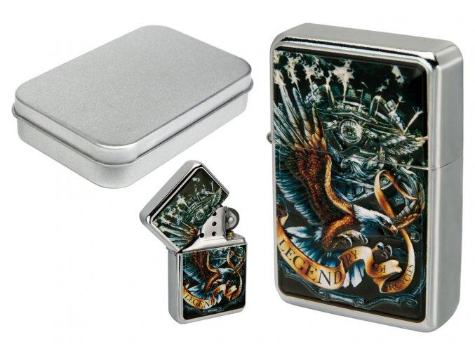 tin oil lighter 053