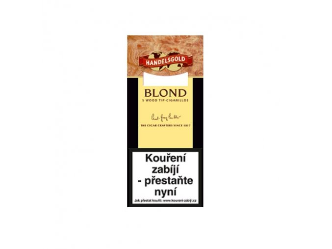 Handelsgold WoodTip Blond 5ks