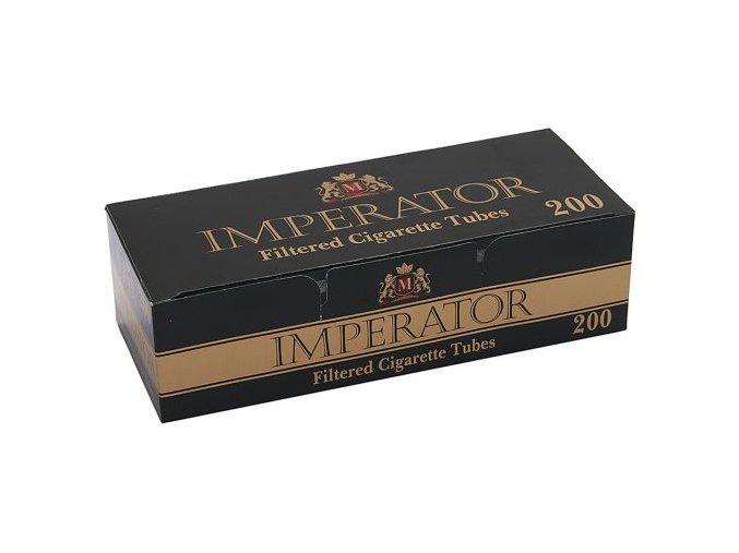 Černé dutinky IMPERATOR 200ks