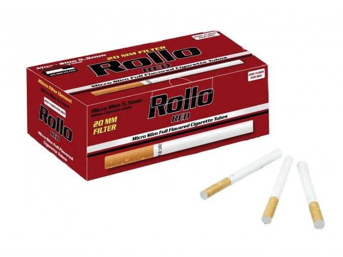 ROLLO RED MICRO SLIM 20MM 200CT