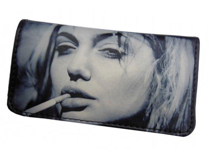 Koženkové pouzdro BQ-ANGELINA JOLIE na tabák a kuřácké potřeby
