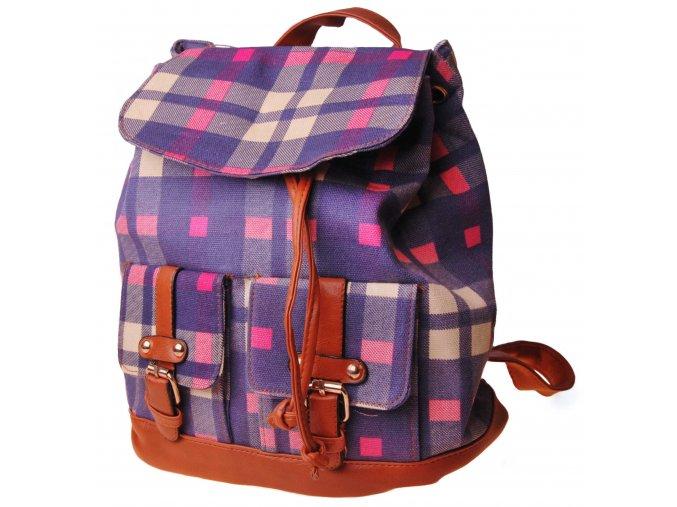 Dámský studentský batoh Violet