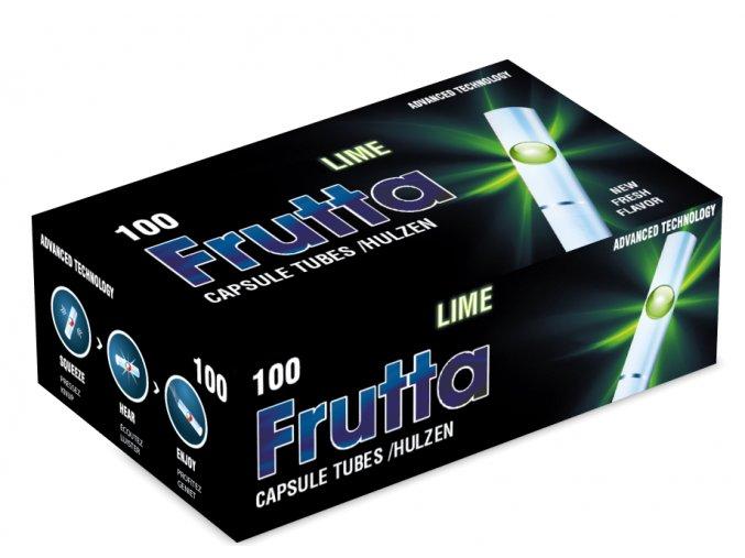 Práskací dutinky FRUTTA LIME 100ks