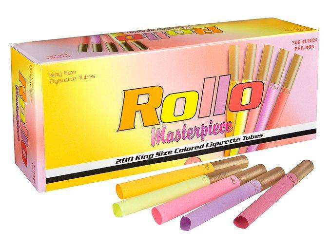 Barevné dutinky ROLLO MASTERPIECE 200 - rozbaleno