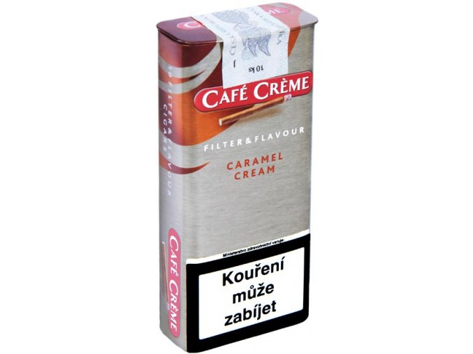 Cafe Creme Filter Caramel Cream 10ks