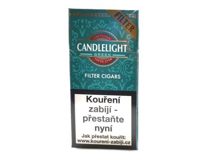 Candle Light Filter Mentol 10ks