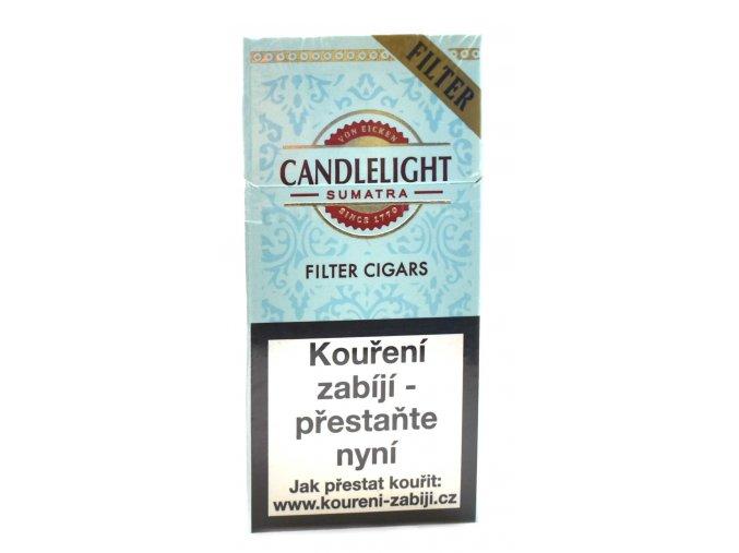 CANDLELIGHT Filter Sumatra 10ks doprodej