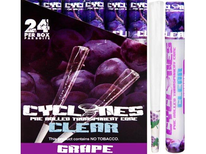 Cyclones Clear Grape 1ks
