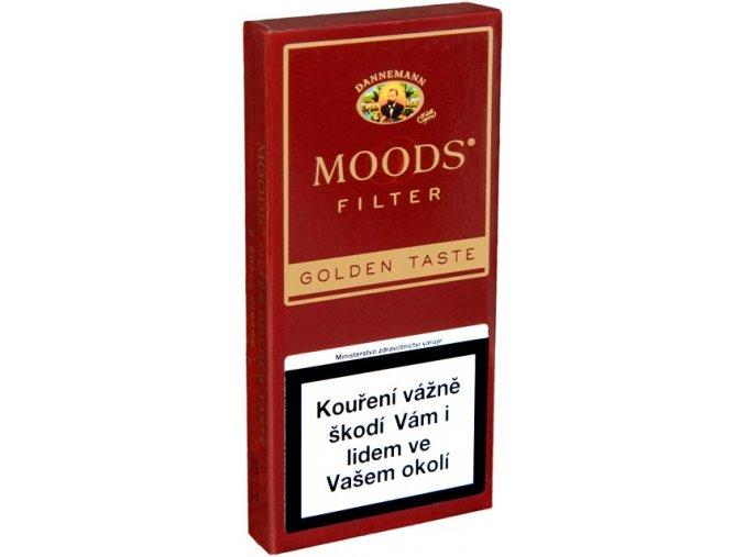 Dannemann Moods Golden Filter 5ks