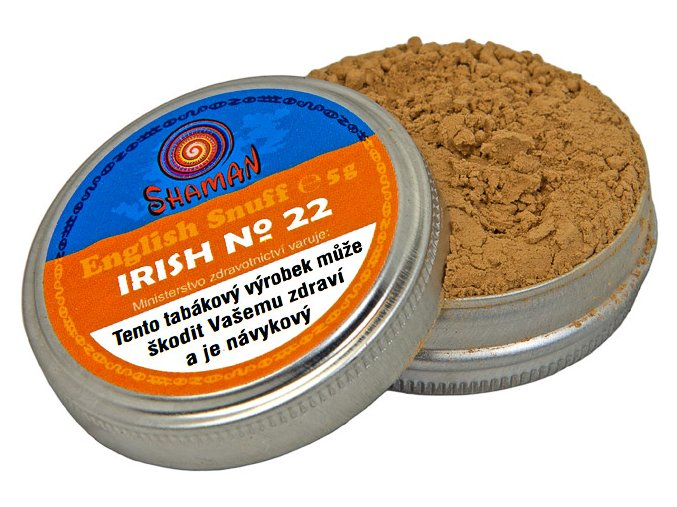 English Snuff Irish No.22 5g