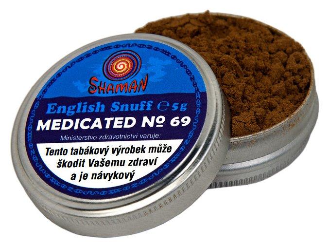 English Snuff Medicated No.69 5g (doporučuji)