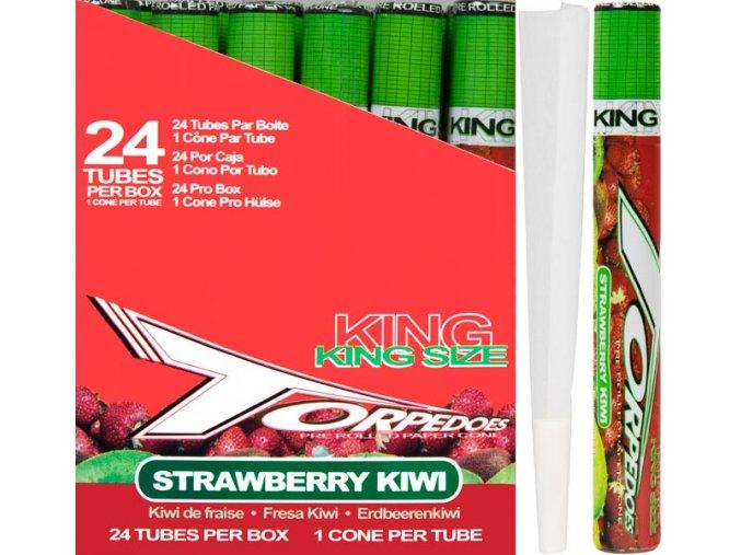 Konická dutinka Torpedoes Strawberry Kiwi KS
