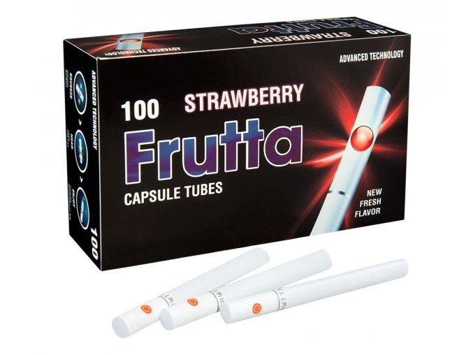 Práskací dutinky FRUTTA STRAWBERRY - filtr 20mm!