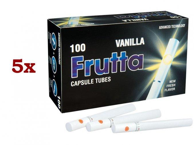 5x Práskací dutinky FRUTTA VANILLA 100ks