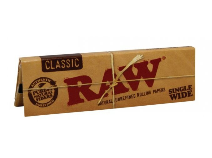 Papírky RAW Classic Single Wide