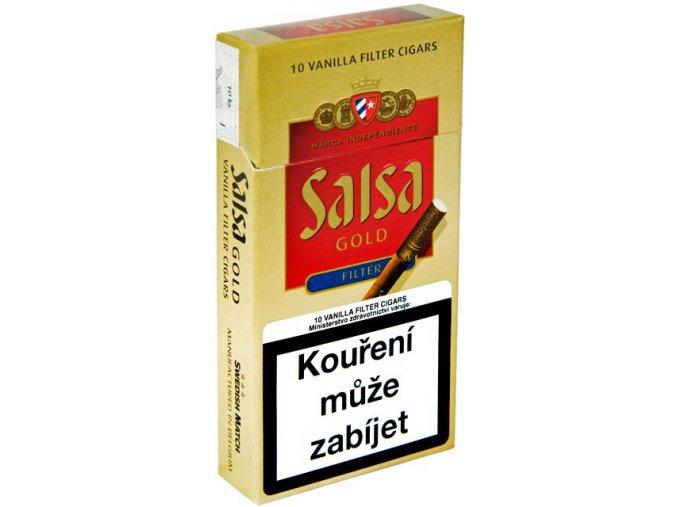 Salsa Vanilla Filter Cigars 10ks