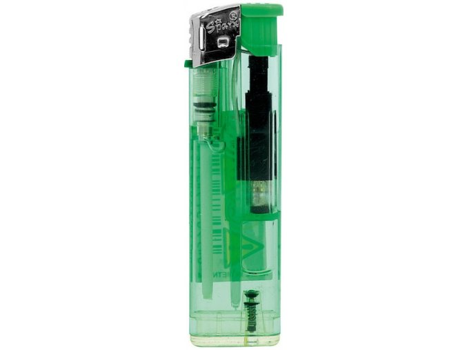 Zapalovač piezzo SLIM Green