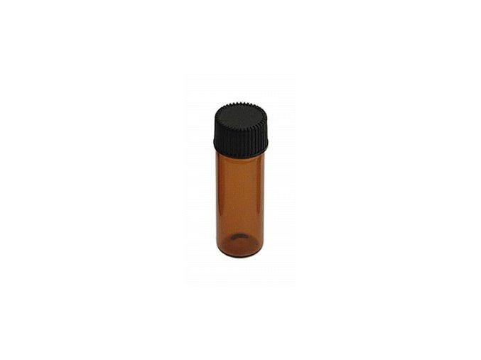 Skleněná lahvička na šňupací tabák 02