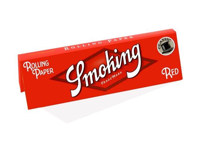Papírky Smoking Regular Red Classic