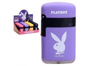 Zapalovač PLAYBOY Double Flame VIOLET