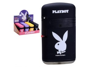 Zapalovač PLAYBOY Double Flame BLACK
