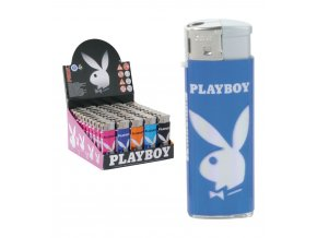 Zapalovač PLAYBOY MINI Azure