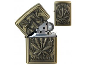 Benzínový zapalovač CANNABIS II 04