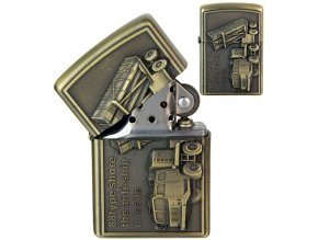 Benzínový zapalovač COMBAT ARMS II 01
