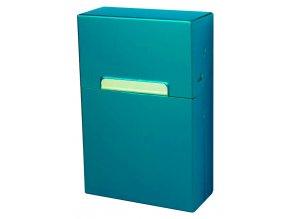 Cigaretové pouzdro s magnetem METALLIC 06