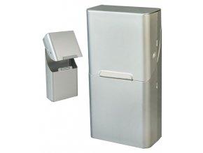 Cigaretové pouzdro s magnetem SLIM METALLIC 02