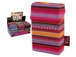 Textilní pouzdro na cigarety LINES TEXTILE  PATTERN 07