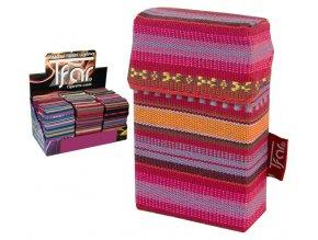 Textilní pouzdro na cigarety LINES TEXTILE  PATTERN 10