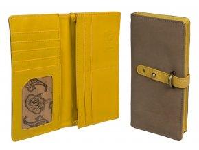 wallet chamois colour 022
