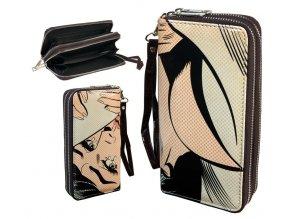 wallet retro double zipper 023
