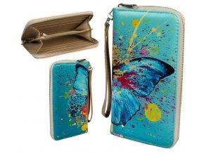 wallet retro single zipper 052