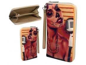 wallet retro single zipper 062