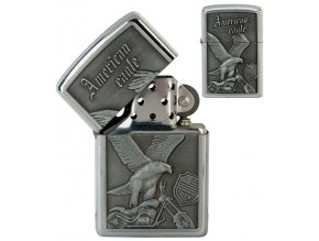 oil lighter american eagle silver 022