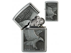 oil lighter american eagle silver 032