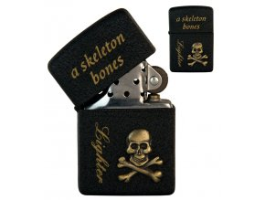 oil lighter black skull 042