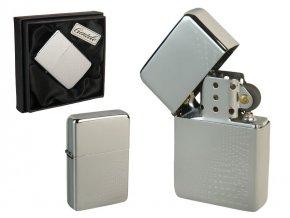 Benzínový zapalovač ALASKA CASE v papírové krabičce 01