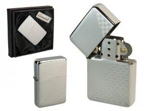Benzínový zapalovač ALASKA CASE v papírové krabičce 02