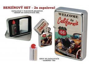 set oil lighter retro car 010