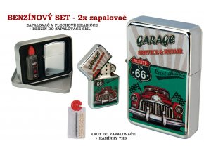 set oil lighter retro car 020