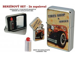 set oil lighter retro car 030