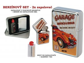 set oil lighter retro car 040