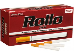 rollo red slim 200ks cigaretove dutinky