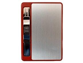 Cigaretové pouzdro COLOUR + USB zapalovač 09
